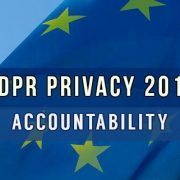 Regolamento europeo privacy 2018 accountability o responsabilizzazione