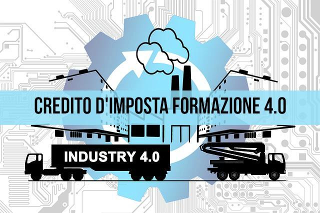 Impresa 4.0 Credito di imposta formazione 4.0