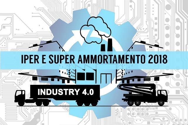 Impresa 4 0 iper e super ammortamento datalog for Iper super conveniente