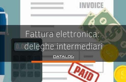 Fattura elettronica deleghe agli intermediari