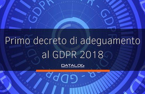 Regolamento europeo privacy decreto legislativo 101 di adeguamento della normativa