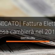 Fattura Elettronica comunicato stampa
