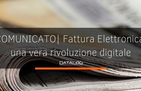 Fattura Elettronica rivoluzione digitale comunicato stampa