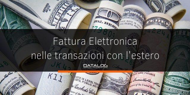 Fattura elettronica e transazioni transfrontaliere