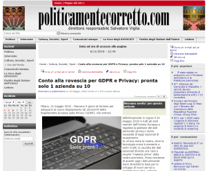 Datalog per le Aziende: GDPR e Privacy - Politicamente corretto