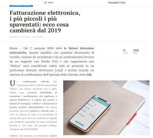 Fatturazione Elettronica Aziende - Giornalelora