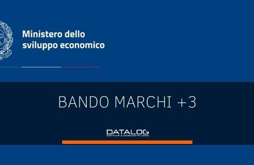 Incentivi alle imprese Bando Marchi+3