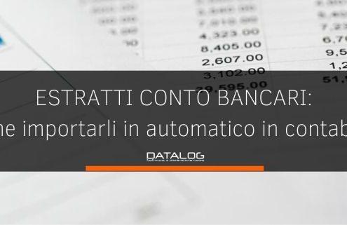 Il software per importare gli estratti conto bancari