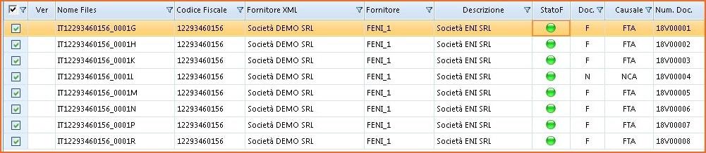 Importazione fatture elettroniche: esempio KING Azienda Generazione Movimenti Contabili da file XML