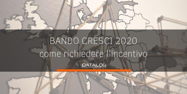bando cresci 2020 per l'internazionalizzazione delle imprese