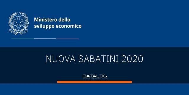 Nuova Sabatini 2020