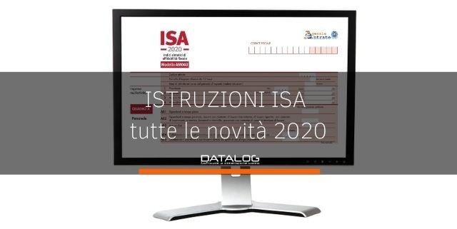 Istruzioni ISA 2020: tutte le novità