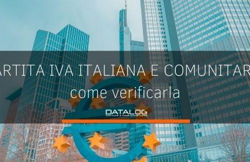 Come verificare la partita iva comunitaria e italiana