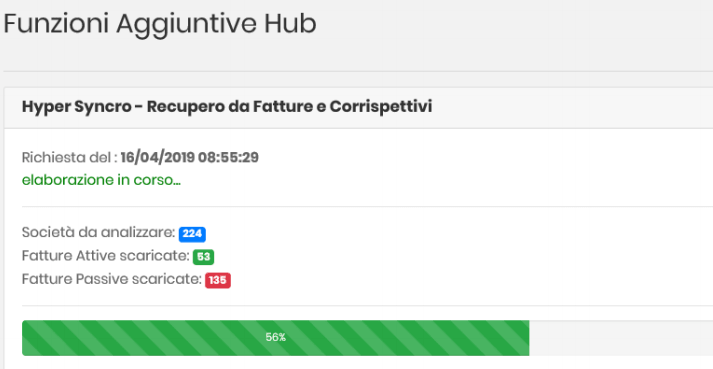 Datalog Hub importazione fatture elaborazione