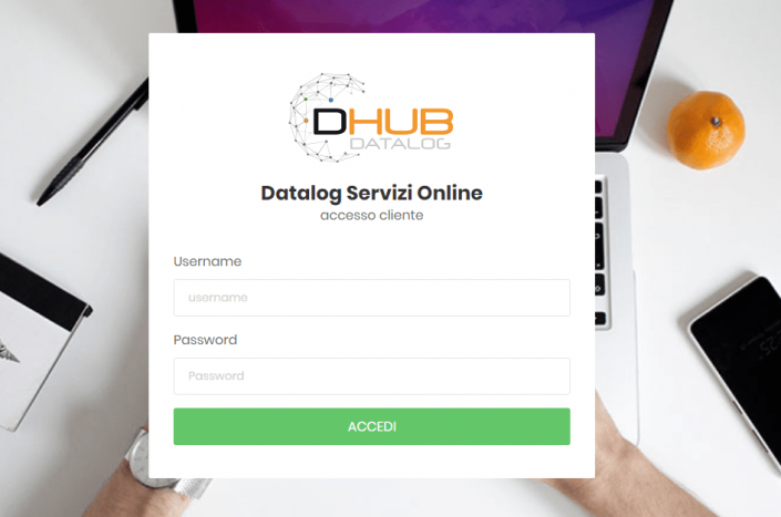 Datalog Hub login